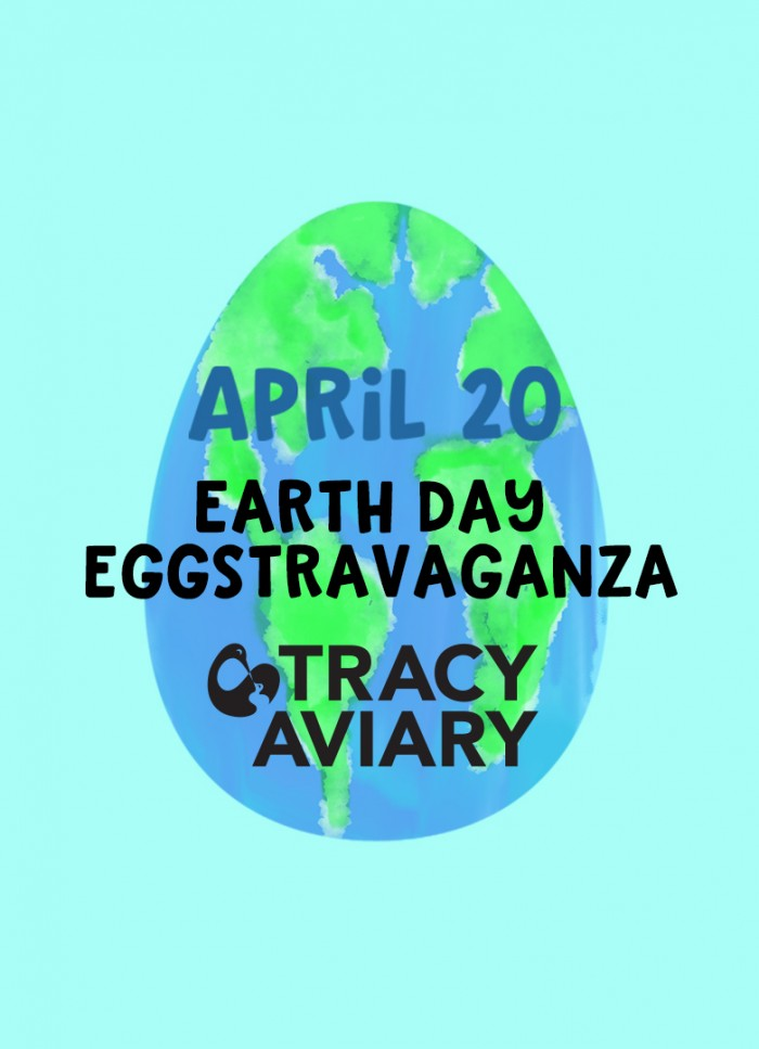 Earth Day Eggstravaganza at Tracy Aviary!