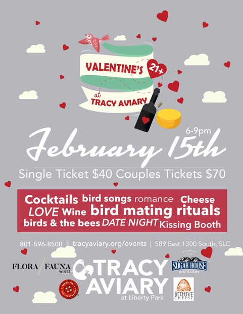 Valentine's at Tracy Aviary