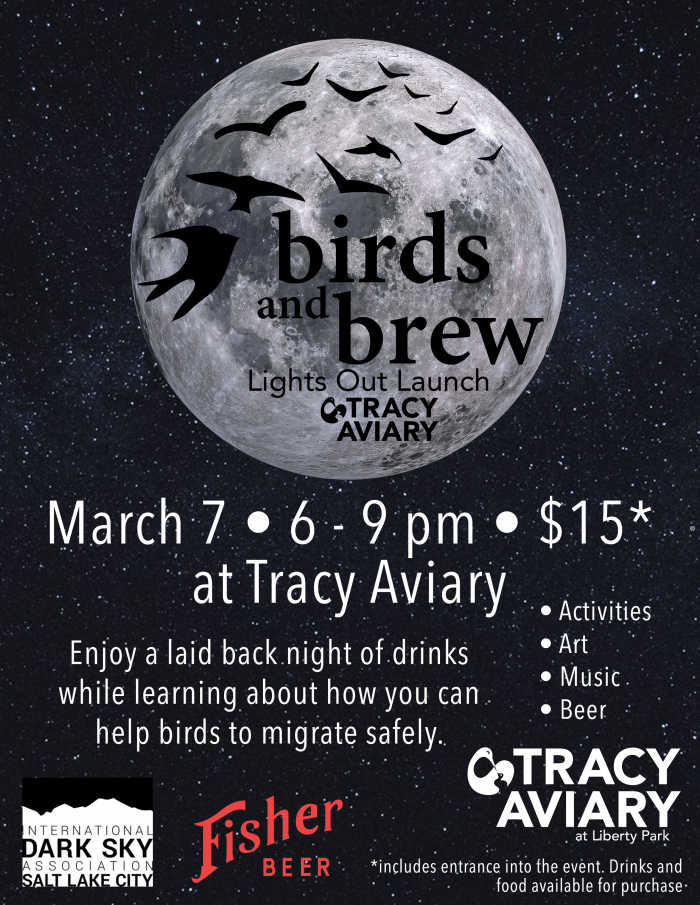 Birds and Brew: Lights out Launch (21+)