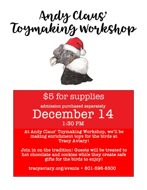 Andy Claus' Toymaking Workshop