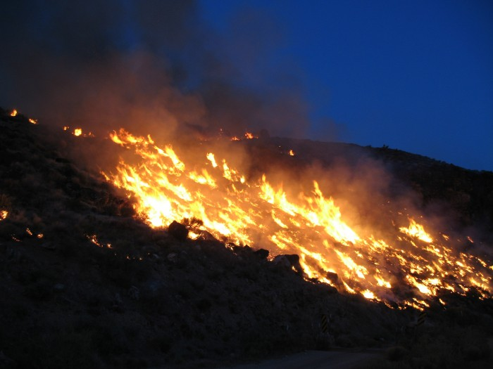 Taking Flight Nights: Science of Wildfires