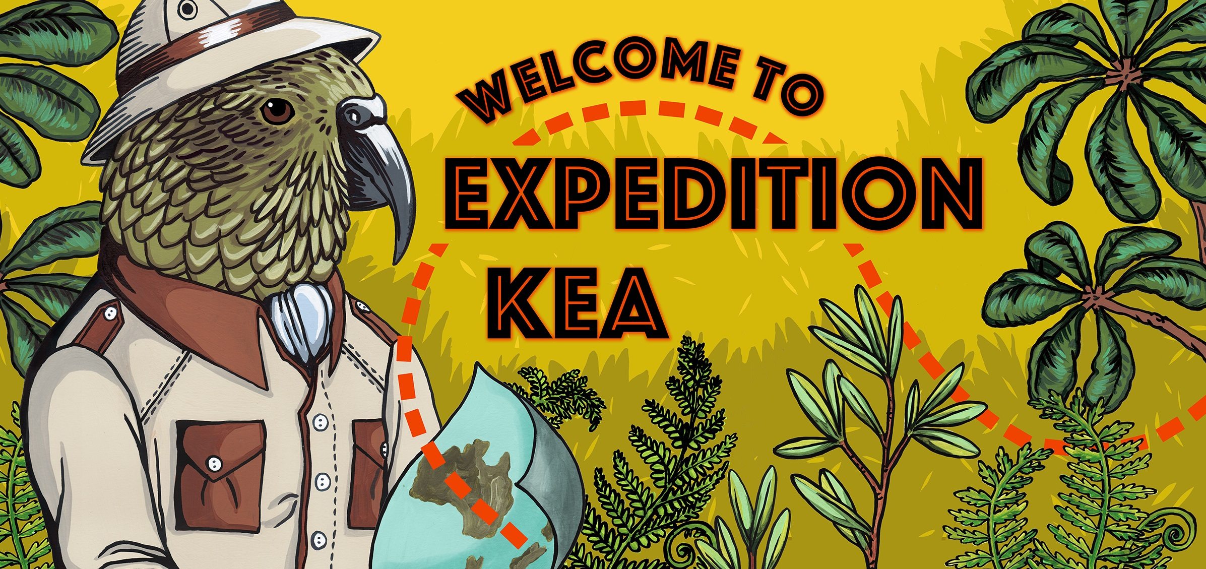 Expedition Kea Sign